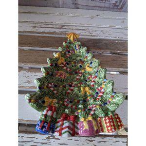 Radko Holiday celebrations tree tray spoon rest pl